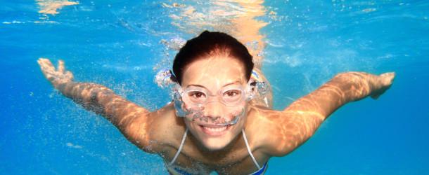 Afvallen in het Zwembad