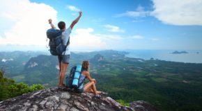 Reizen: Aankomen of Afvallen?